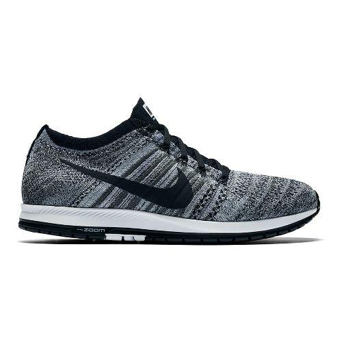 Nike Air Zoom Flyknit Streak 6 Racing Shoe - Black/White 10.5