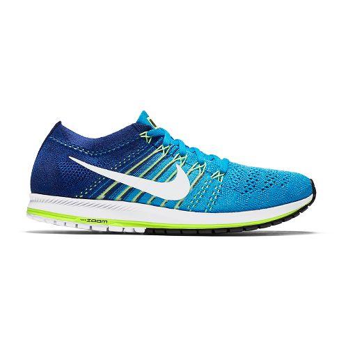 Nike Air Zoom Flyknit Streak 6 Racing Shoe - Blue/Green 6