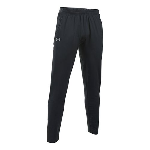 Mens Under Armour No Breaks CGI Tapered Pants - Black L