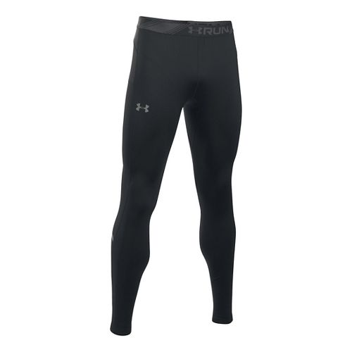 Mens Under Armour No Breaks CGI Tapered Tights & Leggings Pants - Black L