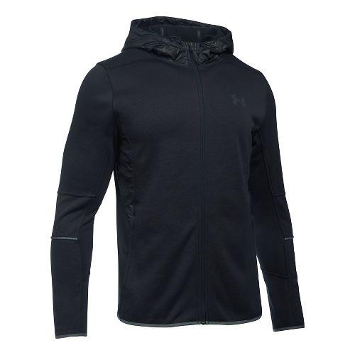 Mens Under Armour Swacket Fullzip Hoodie Casual Jackets - Black XL