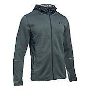 Mens Under Armour Swacket Fullzip Hoodie Casual Jackets - Stealth Grey/Steel L