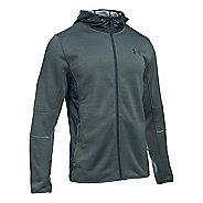 Mens Under Armour Swacket Fullzip Hoodie Casual Jackets - Stealth Grey/Steel XL