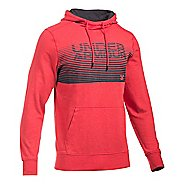 Mens Under Armour Triblend Striped Hoodie & Sweatshirts Technical Tops