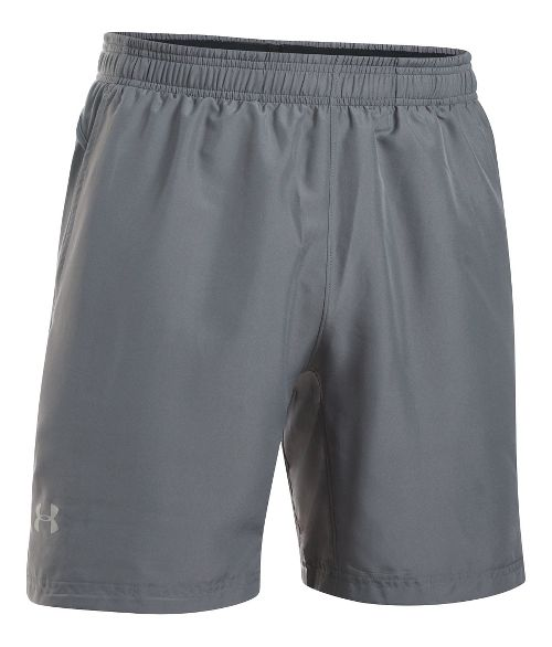 Mens Under Armour Launch 2-in-1 Shorts - Graphite S