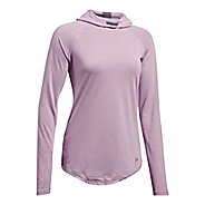 Womens Under Armour Streaker Half-Zips & Hoodies Technical Tops