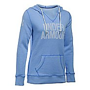 Womens Under Armour Favorite Fleece Popover Hoodie & Sweatshirts Technical Tops