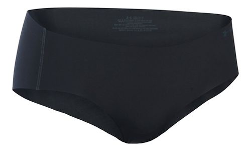 Womens Under Armour Pure Stretch Hipster Underwear Bottoms - Black L