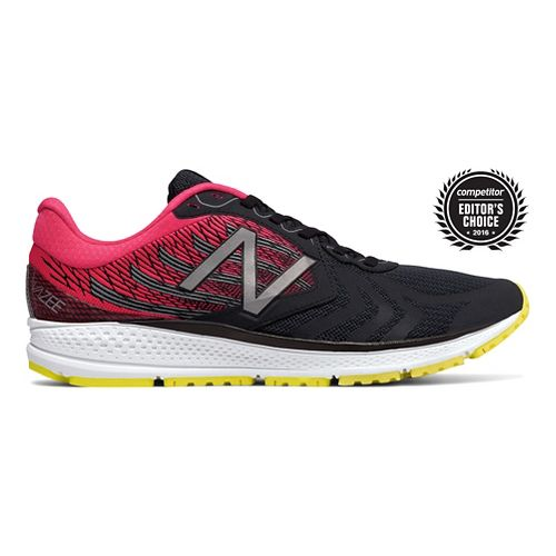Mens New Balance Vazee Pace v2 Running Shoe - Black/Pink 11.5