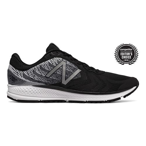 Mens New Balance Vazee Pace v2 Running Shoe - Black/White 10.5