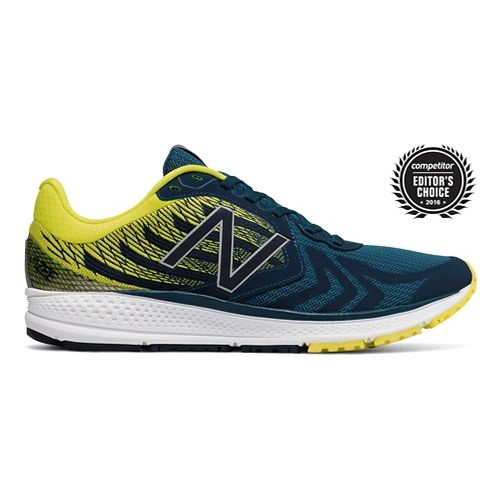 Mens New Balance Vazee Pace v2 Running Shoe - Green/Yellow 11.5