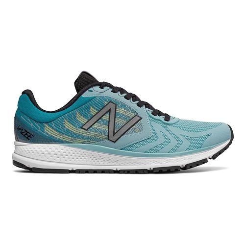 Womens New Balance Vazee Pace v2 Running Shoe - Black/Lime 7