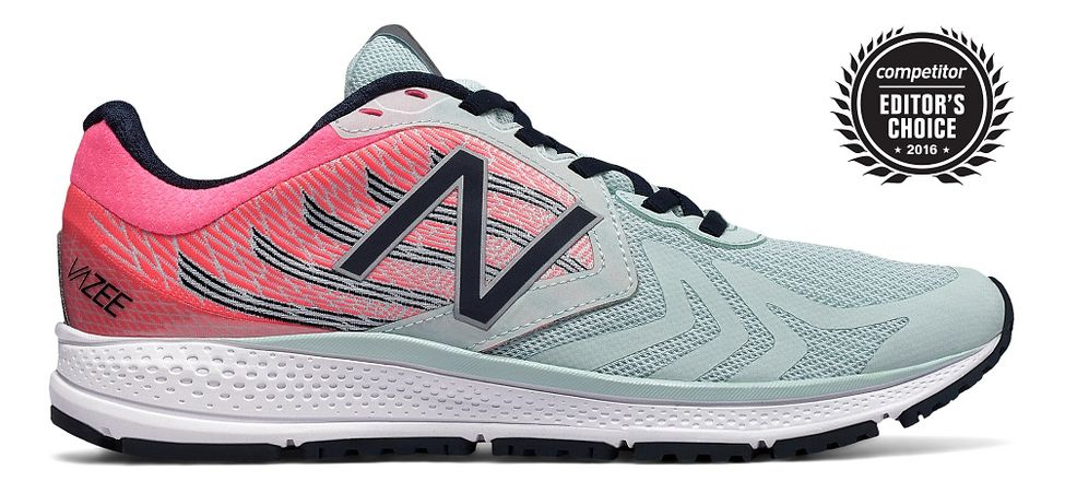 Womens New Balance Vazee Pace v2 Running Shoe - Mint/Pink 11