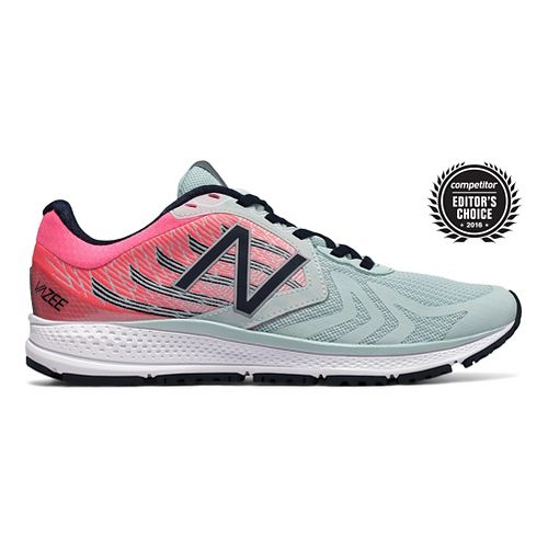 Womens New Balance Vazee Pace v2 Running Shoe - Mint/Pink 10.5