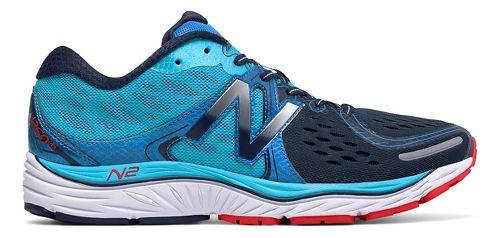 Mens New Balance 1260v6 Running Shoe - Blue/Black 9