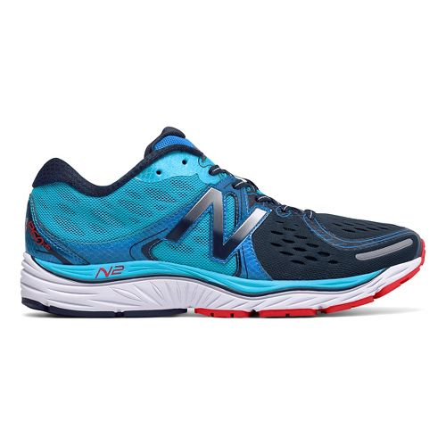 Mens New Balance 1260v6 Running Shoe - Blue/Black 16