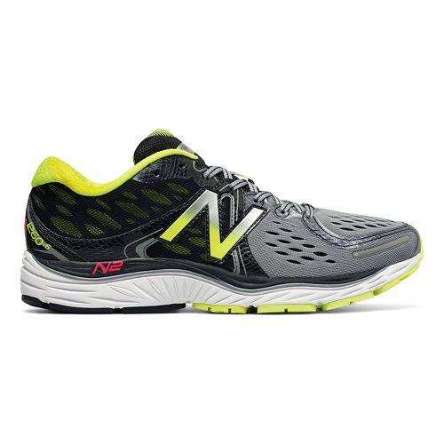 Mens New Balance 1260v6 Running Shoe - Grey/Yellow 12