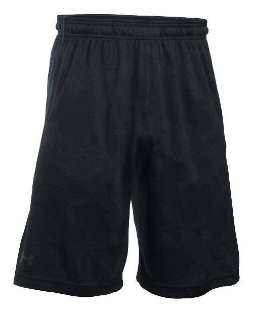 Mens Under Armour Raid Jacquard Unlined Shorts - Black S