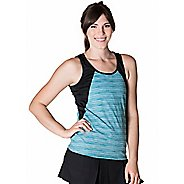 Womens Skirt Sports Take Five Sleeveless and Tank Technical Tops - Wave/Black XS