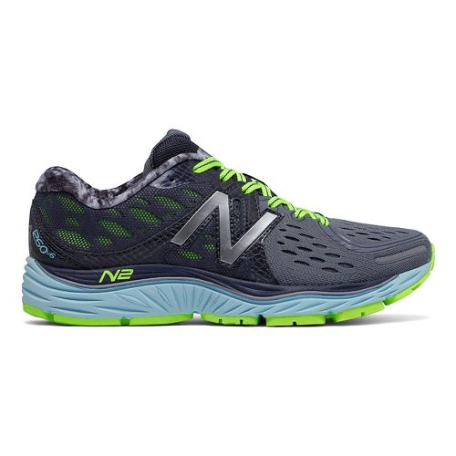 Womens New Balance 1260v6 Running Shoe - Grey/Blue 5