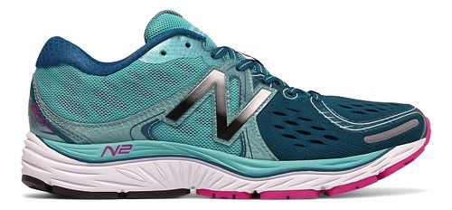 Womens New Balance 1260v6 Running Shoe - Teal/Navy 7.5