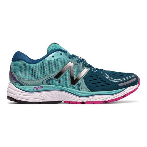 Womens New Balance 1260v6 Running Shoe - Teal/Navy 6.5