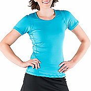 Womens Skirt Sports Circuit Tee Short Sleeve Technical Tops