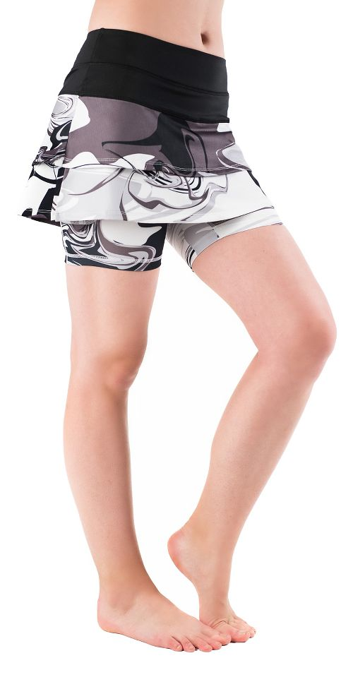 Womens Skirt Sports Cascade Skorts Fitness Skirts - Black/Persevere M