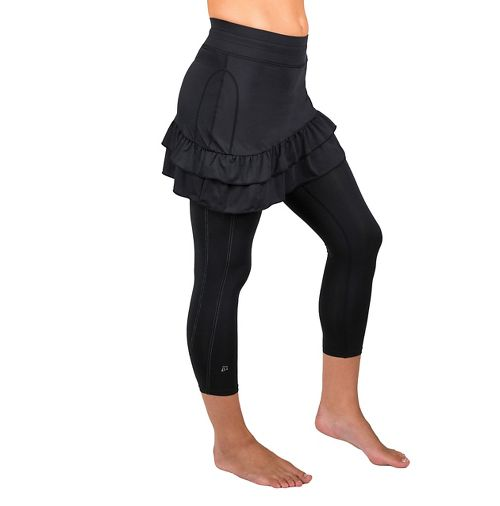 Womens Skirt Sports Vixen Capri Skorts Fitness Skirts - Black S