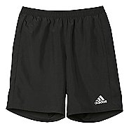 "Mens Adidas Run 7"" Unlined Shorts"