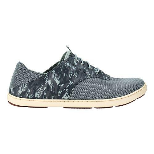 Mens OluKai Nohea Moku Casual Shoe - Charcoal/Dive Camo 10.5