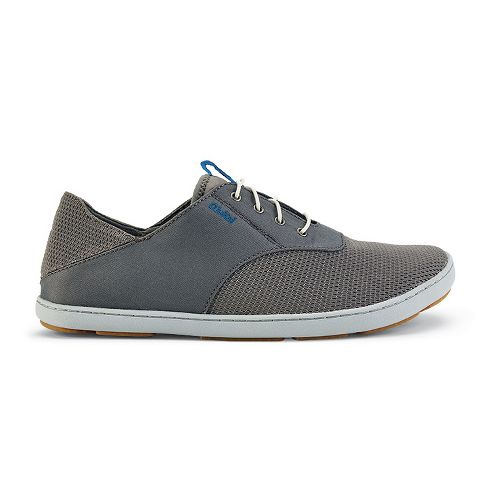 Mens OluKai Nohea Moku Casual Shoe - Fog/Charcoal 9