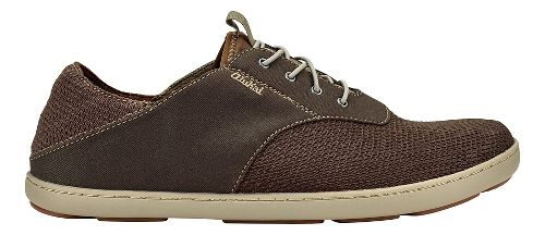 Mens OluKai Nohea Moku Casual Shoe - Dark Wood/Dark Wood 8