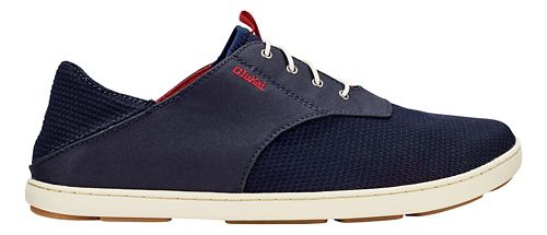 Mens OluKai Nohea Moku Casual Shoe - Carbon/Deep Red 11.5