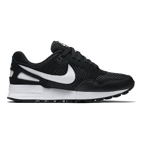 Womens Nike Air Pegasus '89 Casual Shoe - Black/White 8.5