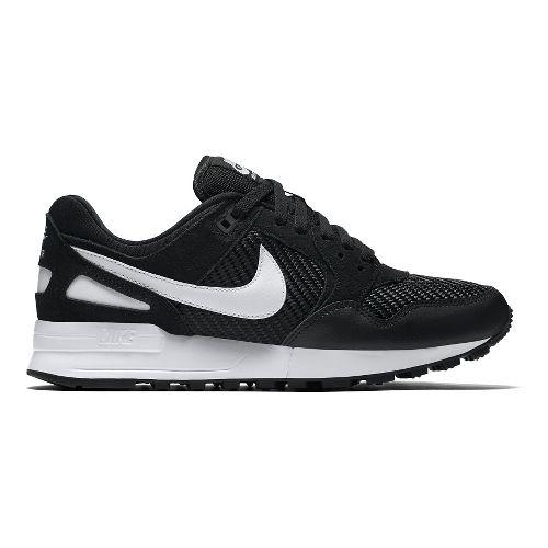 Womens Nike Air Pegasus '89 Casual Shoe - Black/White 9