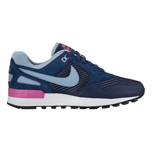 Womens Nike Air Pegasus '89 Casual Shoe - Navy 8