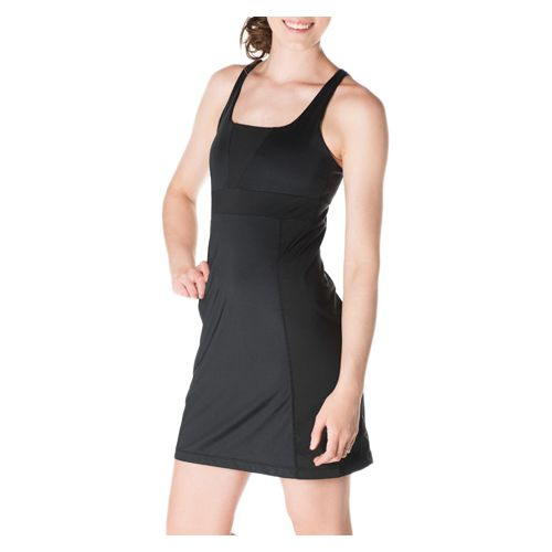 Womens Skirt Sports Electric Dresses - Black L