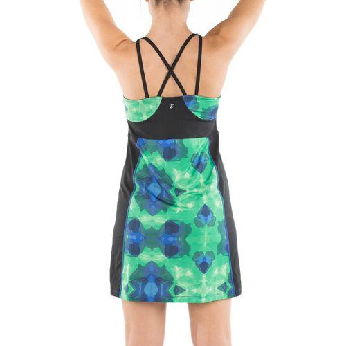 Womens Skirt Sports Electric Dresses - Emerald City Print S