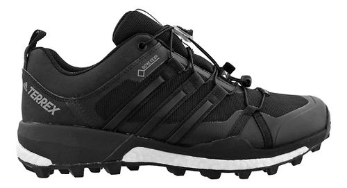 Mens adidas Terrex Skychaser GTX Trail Running Shoe - White/Black 8.5