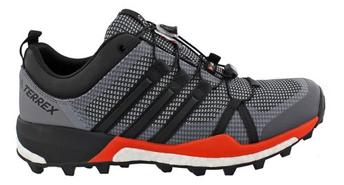Mens adidas Terrex Skychaser Trail Running Shoe - Black/Energy 11.5