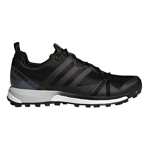 Mens adidas Terrex Agravic GTX Trail Running Shoe - Black 7.5