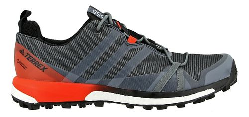 Mens adidas Terrex Agravic GTX Trail Running Shoe - Black/Energy 15