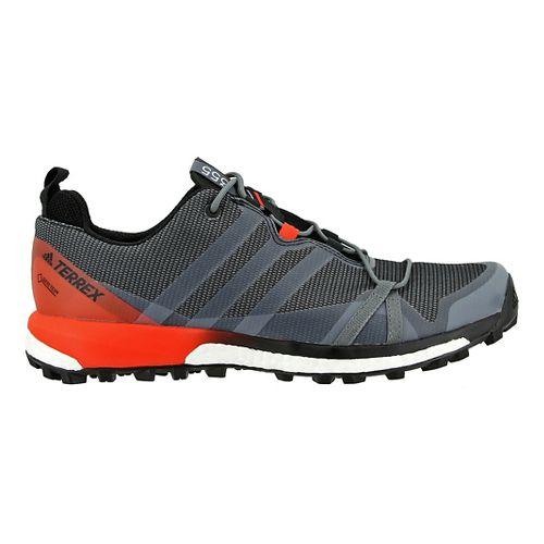 Mens adidas Terrex Agravic GTX Trail Running Shoe - Black/Energy 8