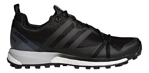Mens adidas Terrex Agravic GTX Trail Running Shoe - Black/Grey 11.5