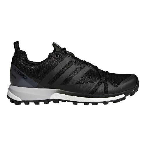 Mens adidas Terrex Agravic GTX Trail Running Shoe - Black/Grey 8.5