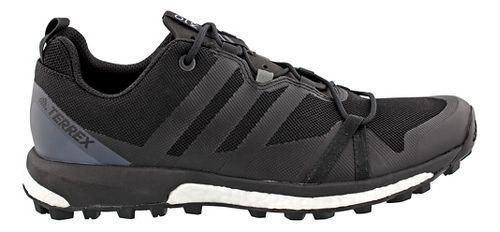 Mens adidas Terrex Agravic Trail Running Shoe - Black/Grey 9