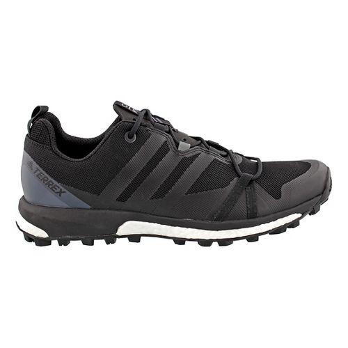 Mens adidas Terrex Agravic Trail Running Shoe - Black/Grey 10.5
