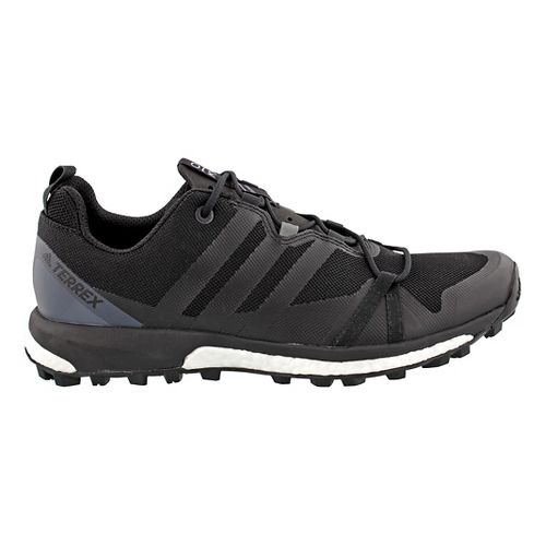 Mens adidas Terrex Agravic Trail Running Shoe - Black/Grey 8.5