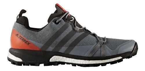 Mens adidas Terrex Agravic Trail Running Shoe - Black/Energy 10